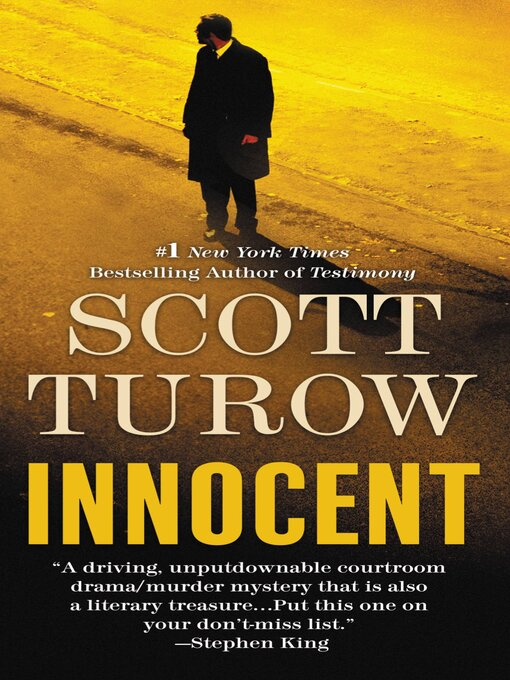 Title details for Innocent by Scott Turow - Wait list