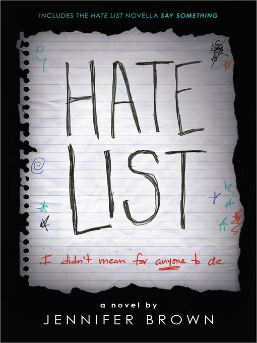 Title details for Hate List by Jennifer Brown - Wait list