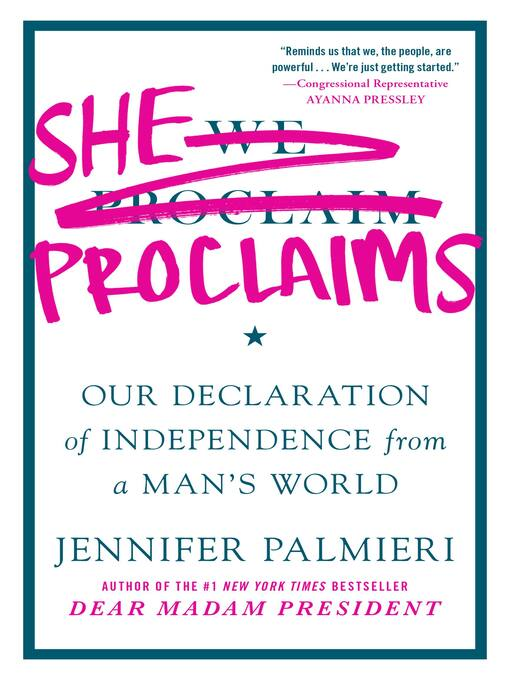 Title details for She Proclaims by Jennifer Palmieri - Available