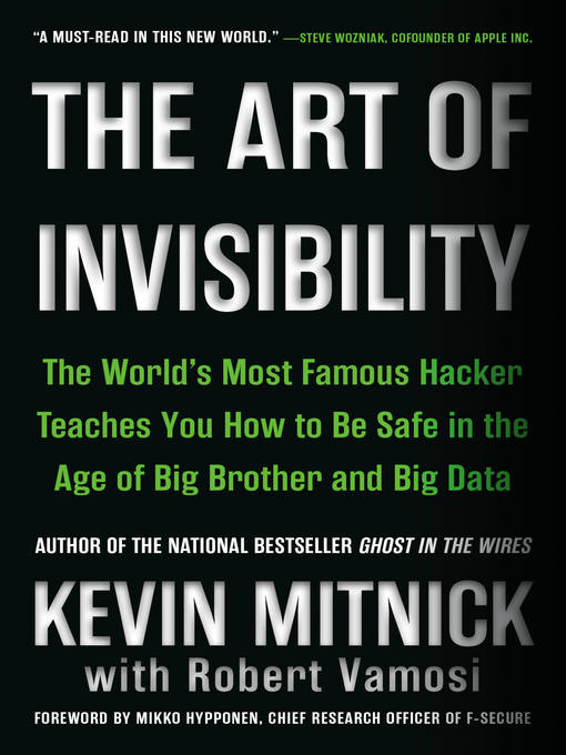 Title details for The Art of Invisibility by Kevin Mitnick - Wait list