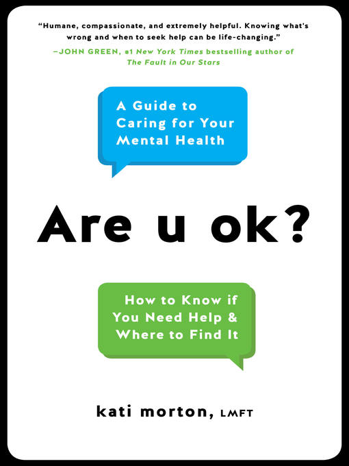 Title details for Are u ok? by Kati Morton - Wait list