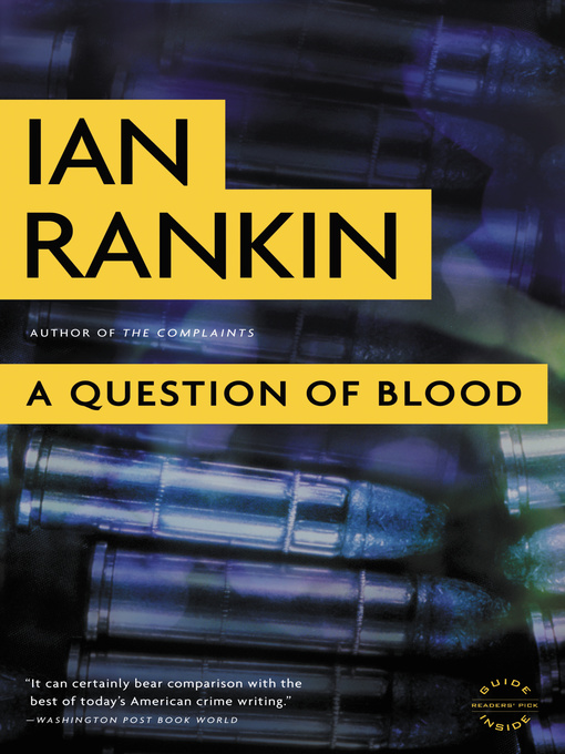 Title details for A Question of Blood by Ian Rankin - Wait list