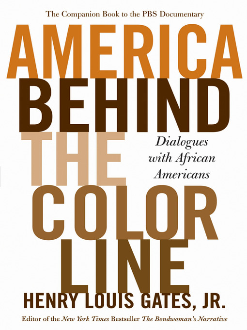 Cover of America Behind the Color Line