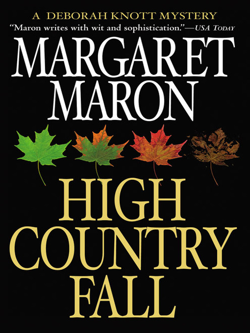 Title details for High Country Fall by Margaret Maron - Wait list