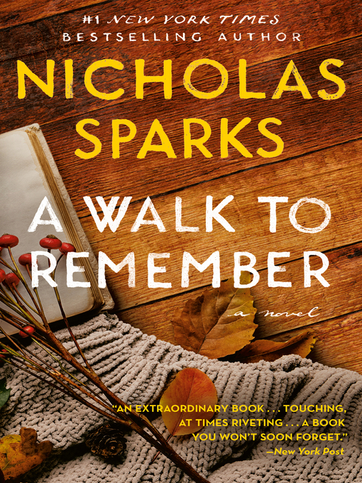Title details for A Walk to Remember by Nicholas Sparks - Available