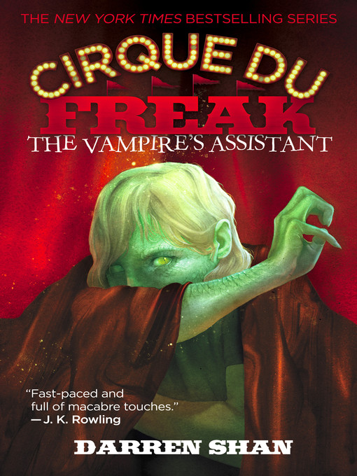Title details for The Vampire's Assistant by Darren Shan - Available
