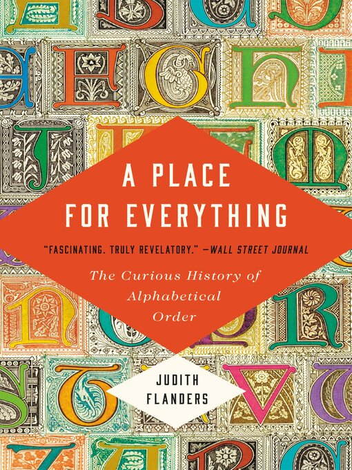 Title details for A Place for Everything by Judith Flanders - Wait list