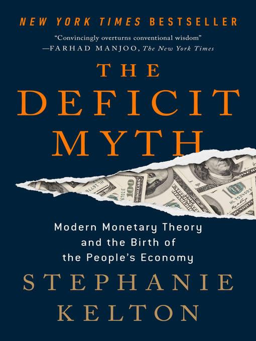 Title details for The Deficit Myth by Stephanie Kelton - Wait list