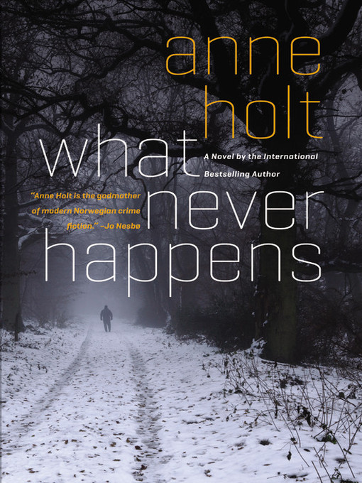 Title details for What Never Happens by Anne Holt - Available