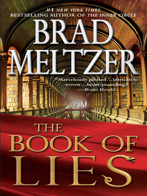 Title details for The Book of Lies by Brad Meltzer - Available