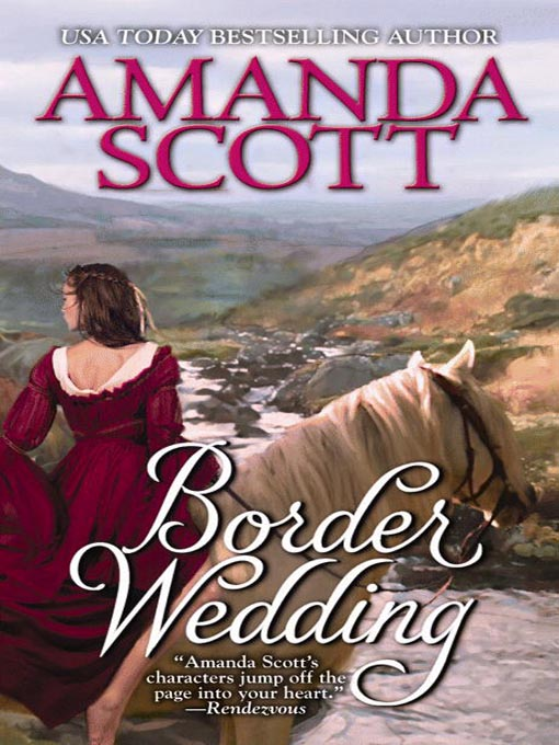 Title details for Border Wedding by Amanda Scott - Available