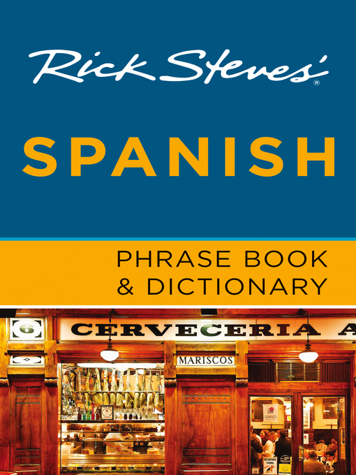 Cover of Rick Steves' Spanish Phrase Book & Dictionary