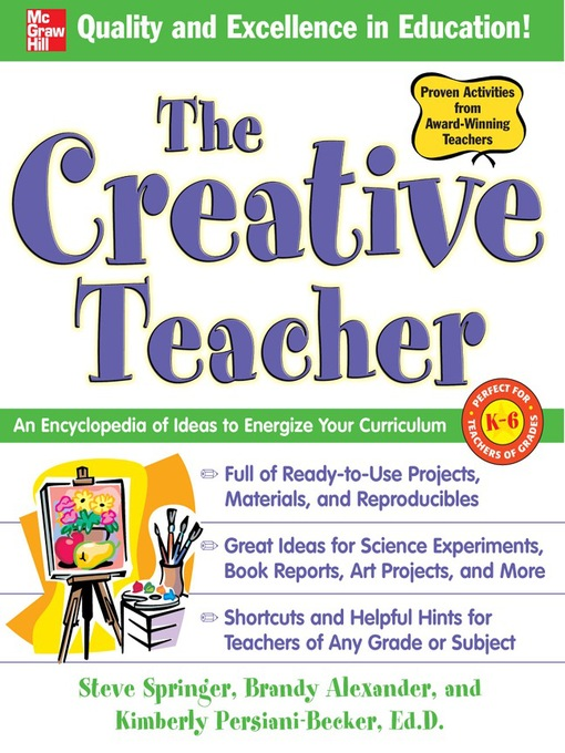 Title details for The Creative Teacher by Steve Springer - Available