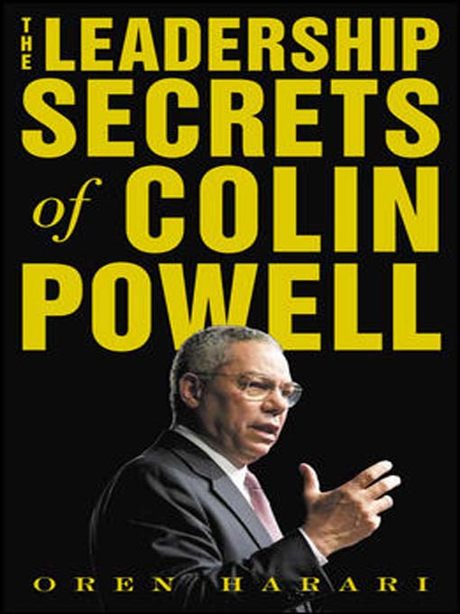 Cover of The Leadership Secrets of Colin Powell