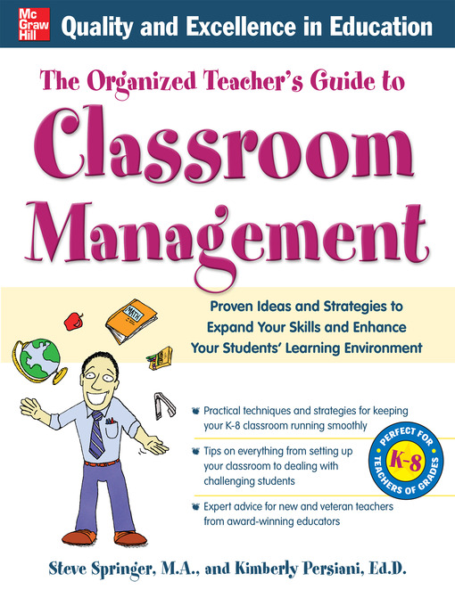 Title details for The Organized Teacher's Guide to Classroom Management by Kimberly Persiani - Available