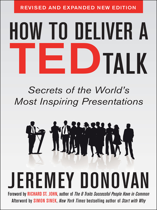 Title details for How to Deliver a TED Talk by Jeremey Donovan - Available