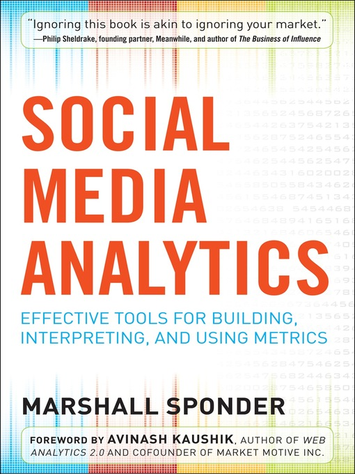 Title details for Social Media Analytics by Marshall Sponder - Available