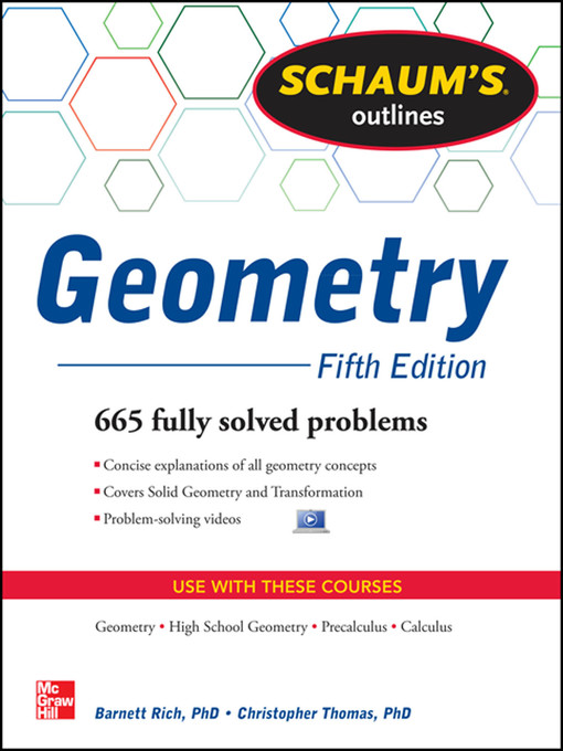 Title details for Schaum's Outline of Geometry by Christopher Thomas - Available