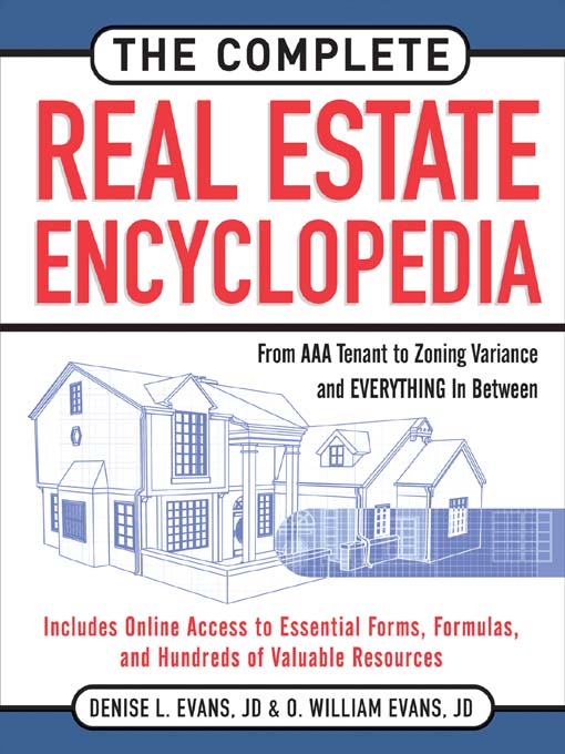 Title details for The Complete Real Estate Encyclopedia by Denise Evans - Available