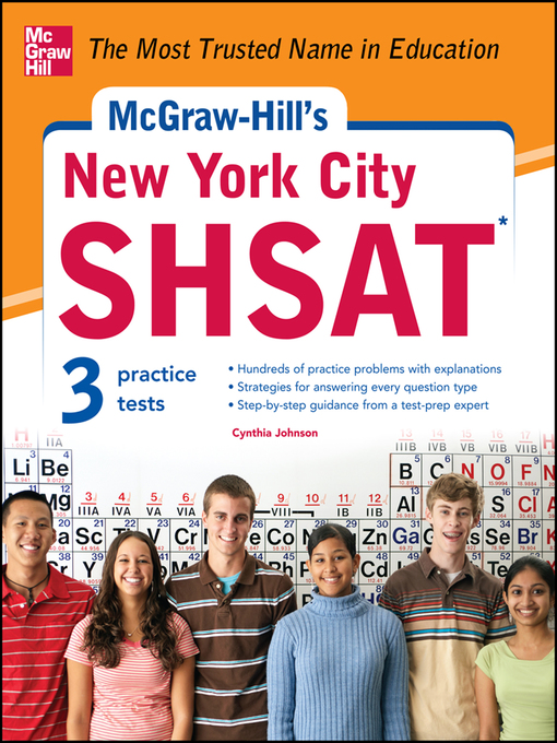 Title details for McGraw-Hill's New York City SHSAT by Cynthia Knable - Available