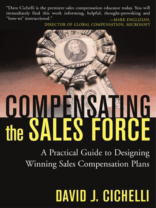 Title details for Compensating the Sales Force by David J. Cichelli - Available