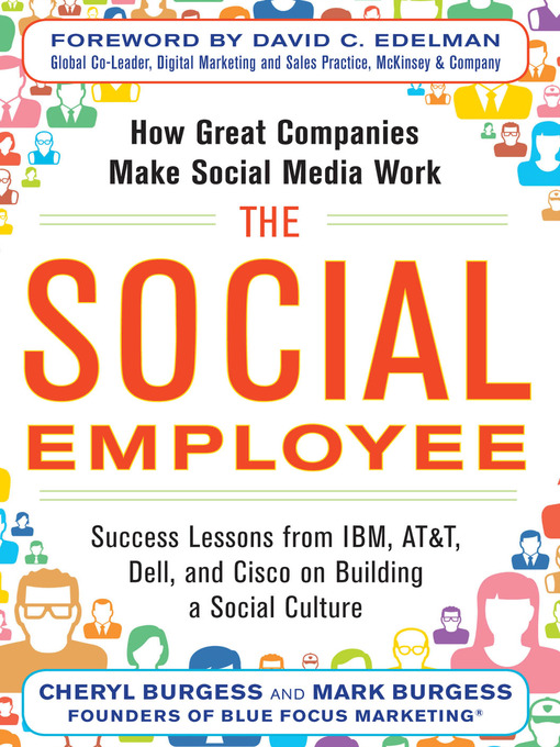 Title details for The Social Employee by Cheryl Burgess - Available