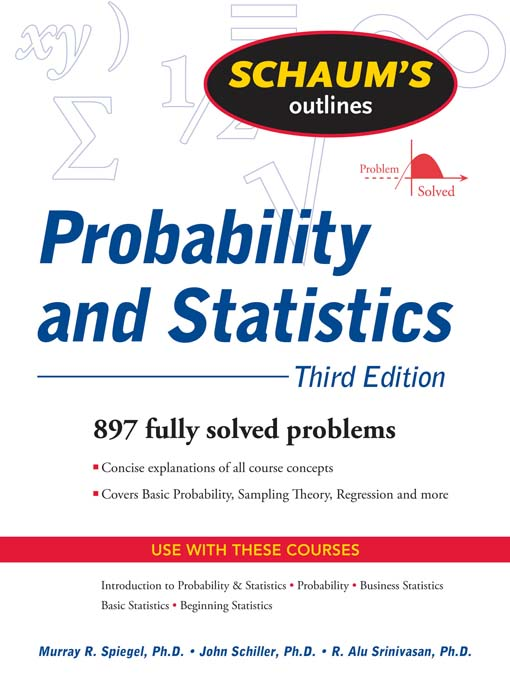 probability for statistics