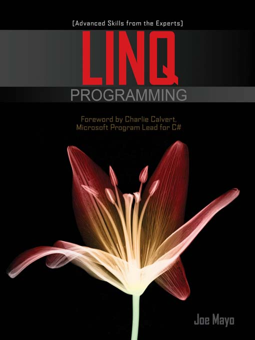Title details for LINQ Programming by Joe Mayo - Available