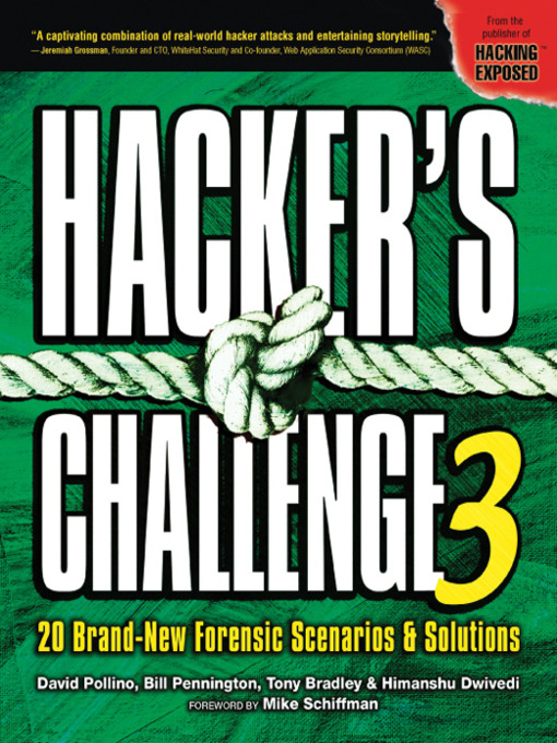 the challenges of hacking