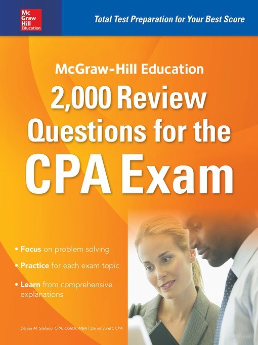 Title details for McGraw-Hill Education 2,000 Review Questions for the CPA Exam by Denise M. Stefano - Available