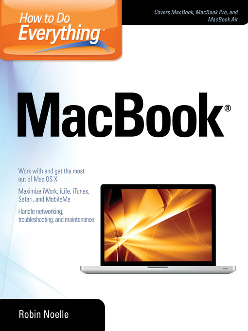 Title details for How to Do Everything MacBook by Robin Noelle - Available