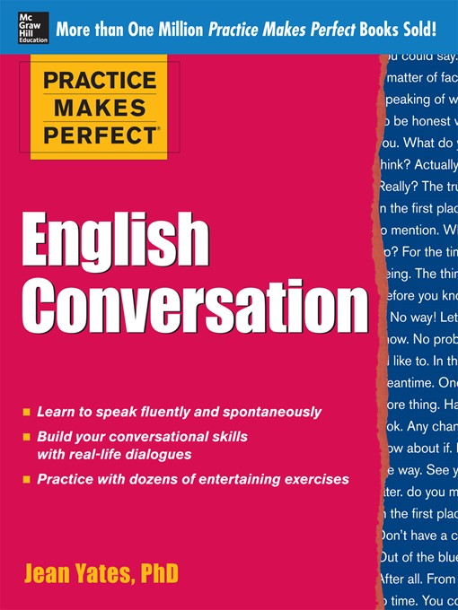 Title details for English Conversation by Jean Yates - Available