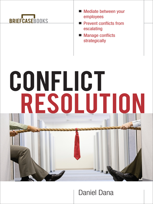 Title details for Conflict Resolution by Daniel Dana - Available