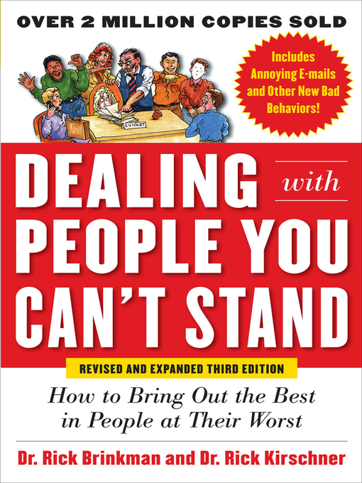 Title details for Dealing with People You Can't Stand by Rick Brinkman - Available