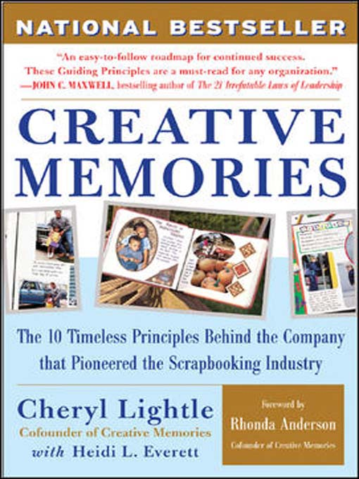 Title details for Creative Memories by Cheryl Lightle - Available
