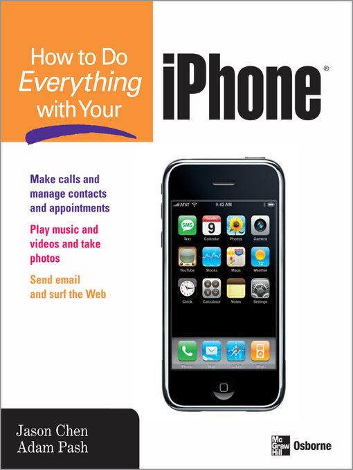 Cover of How to Do Everything with Your iPhone®