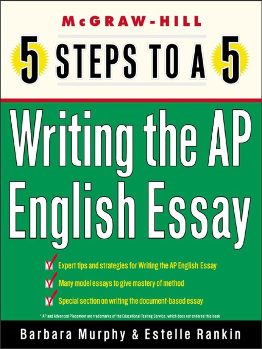 Title details for Writing the AP English Essay by Barbara Murphy - Available