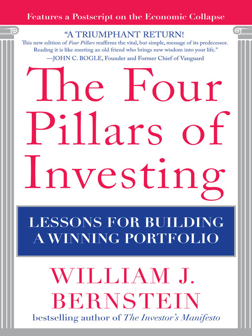 Cover of The Four Pillars of Investing