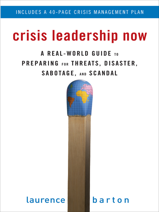 Cover of Crisis Leadership Now