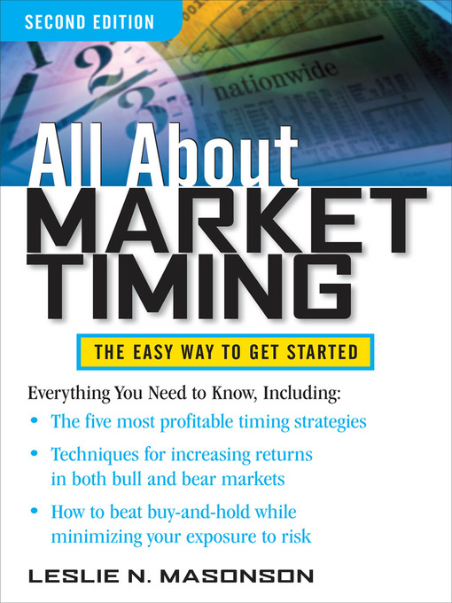 Title details for All About Market Timing by Leslie N. Masonson - Available