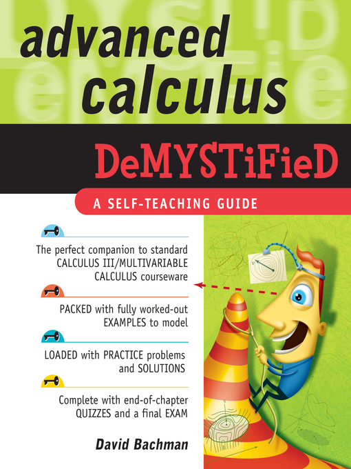 Advanced Calculus Demystified - New York Public Library - OverDrive