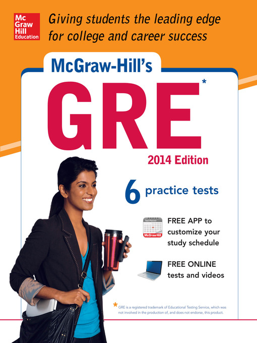 Title details for McGraw-Hill's GRE, 2014 Edition by Steven W. Dulan - Available