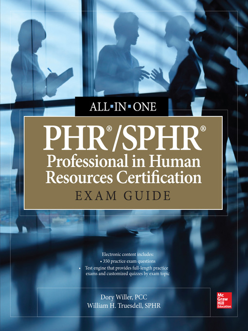 Phrsphr Professional In Human Resources Certification All In One