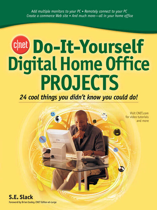Cnet do it yourself digital home office projects media on demand title details for cnet do it yourself digital home office projects by sally slack solutioingenieria Images