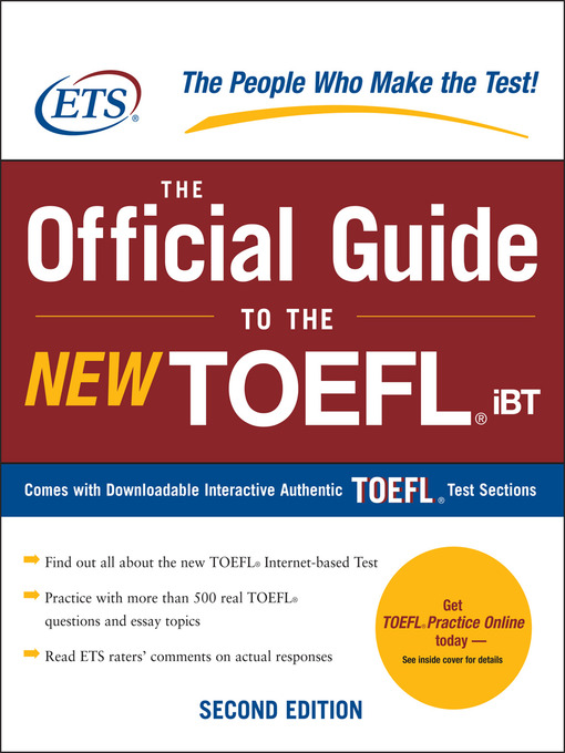 To 4th the pdf guide edition official toefl test