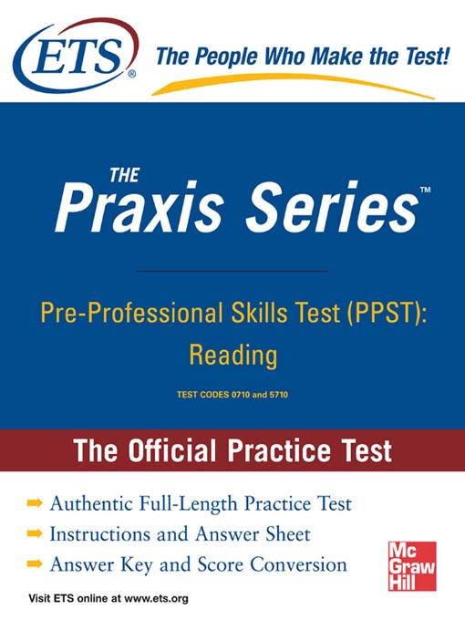 graphic about Praxis 1 Practice Test Printable known as Pre-Educated Capabilities Check (PPST) - Boston General public Library