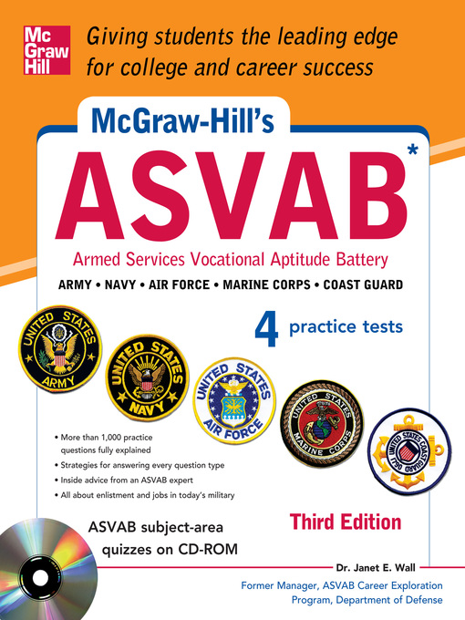 Title details for McGraw-Hill's ASVAB by Janet E. Wall - Available