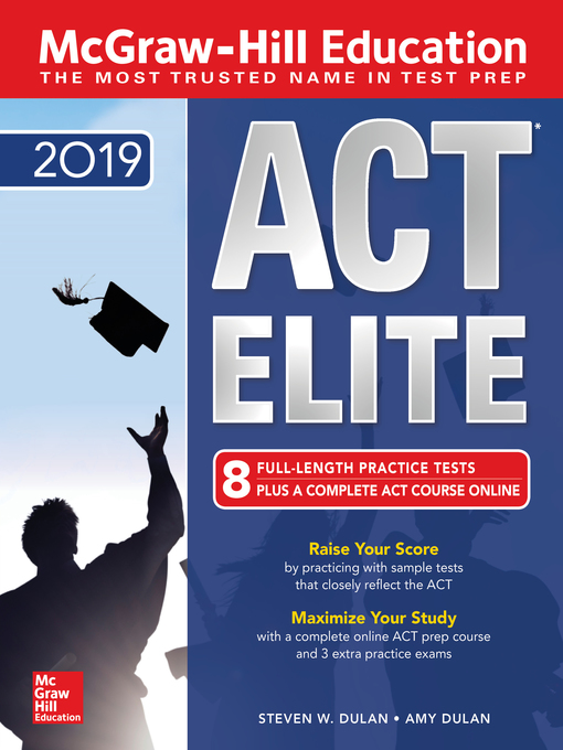 Cover of McGraw-Hill ACT ELITE 2019