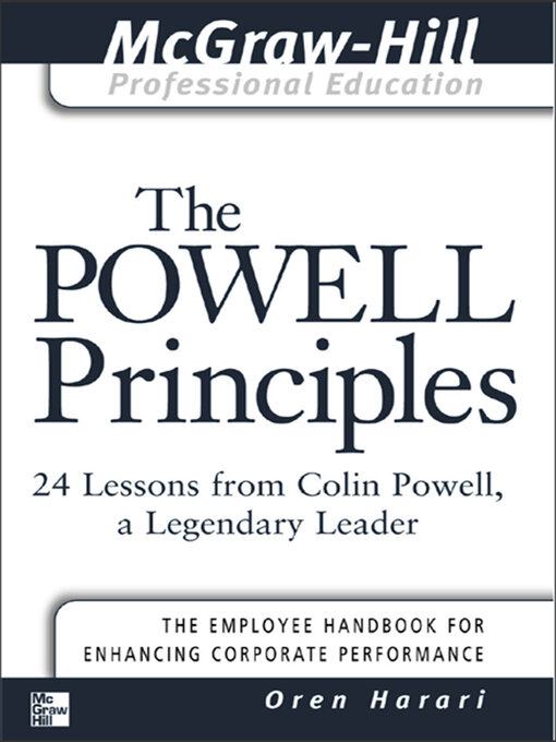 The-Powell-Principles:-24-Lessons-from-Colin-Powell,-a-Legendary-Leader