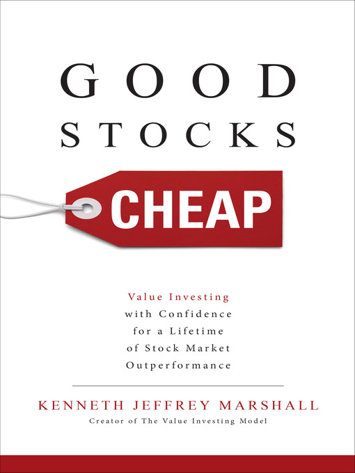 Title details for Good Stocks Cheap by Kenneth Jeffrey Marshall - Wait list